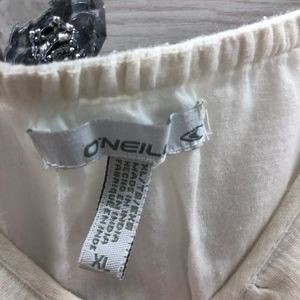O'Neill Dresses - O'Neill White Cotton Dress Size XL Spaghetti Strap